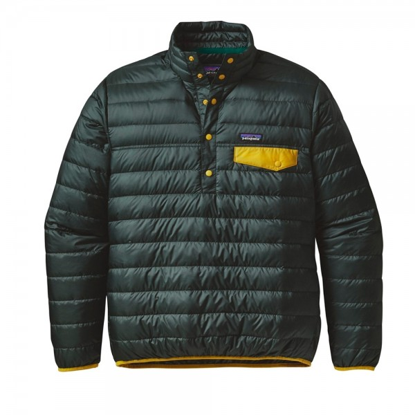 Patagonia Down Snap-T Pullover Jacket (Carbon)