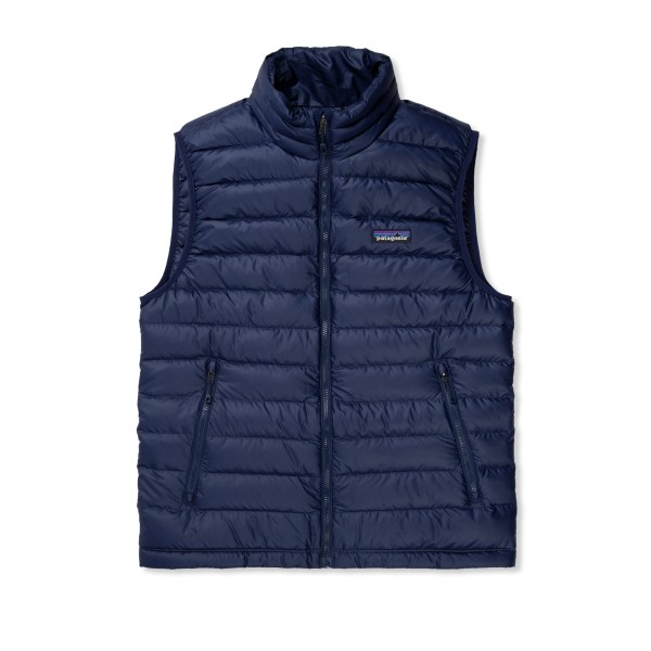 Patagonia Down Sweater Vest (Classic Navy w/Classic Navy)