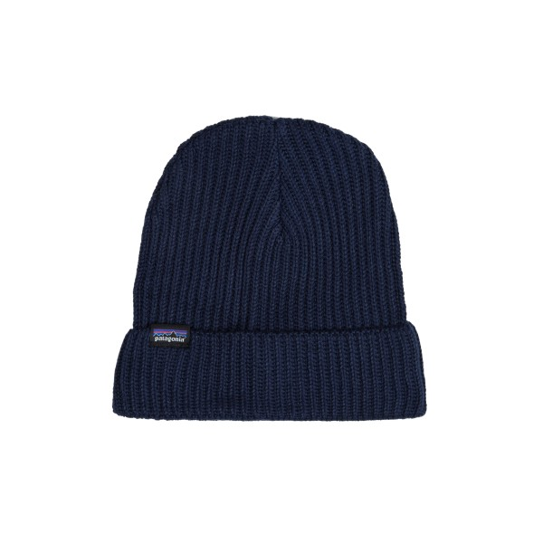 Patagonia Fisherman's Rolled Beanie (Navy Blue)