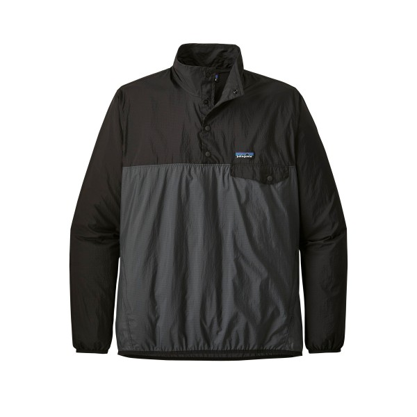 Patagonia Houdini Snap-T Pullover Jacket (Forge Grey)