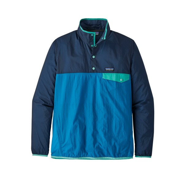 Patagonia Houdini Snap-T Pullover Jacket (Port Blue)