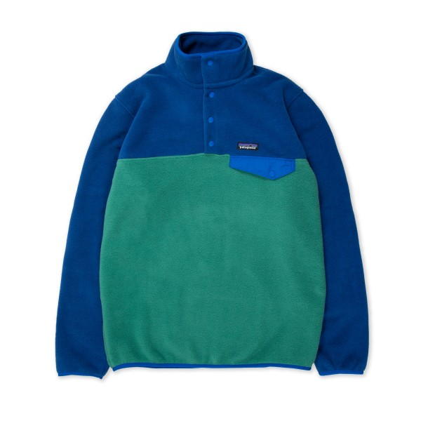 Patagonia Lightweight Synchilla Snap-T Pullover Fleece - European Fit (Eelgrass Green)