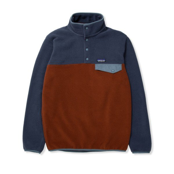 Patagonia Lightweight Synchilla Snap-T Pullover Fleece - European Fit (Fox Red)