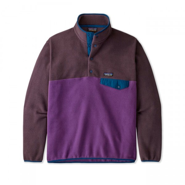 Patagonia Lightweight Synchilla Snap-T Pullover Fleece - European Fit (Purple)