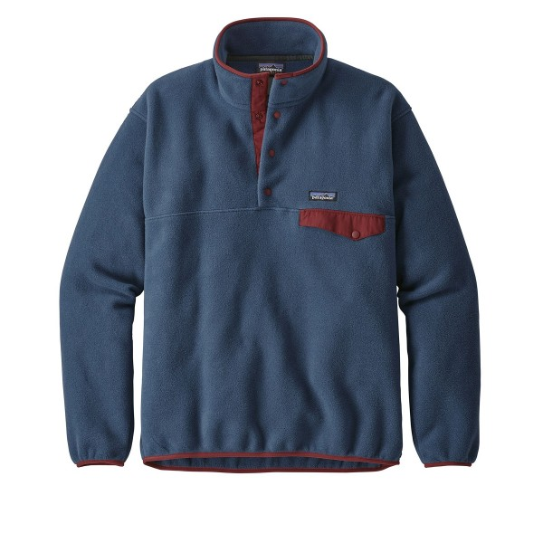 Patagonia Lightweight Synchilla Snap-T Pullover Fleece - European Fit (Stone Blue)