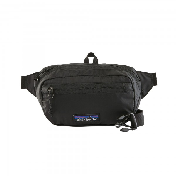 Patagonia Lightweight Travel Mini Hip Pack 1L (Black)