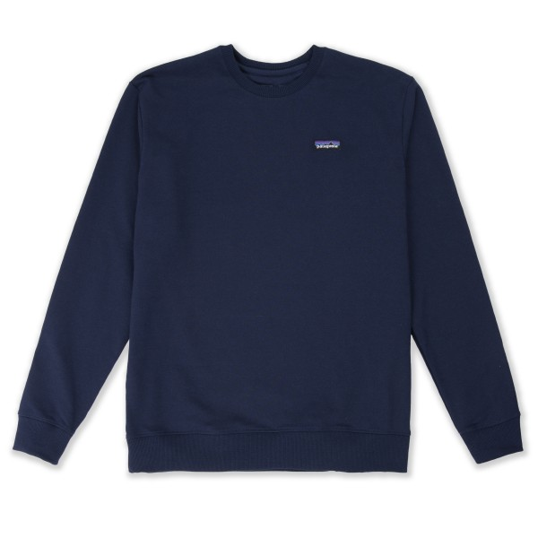 Patagonia P-6 Label Uprisal Crew Neck Sweatshirt (Classic Navy)