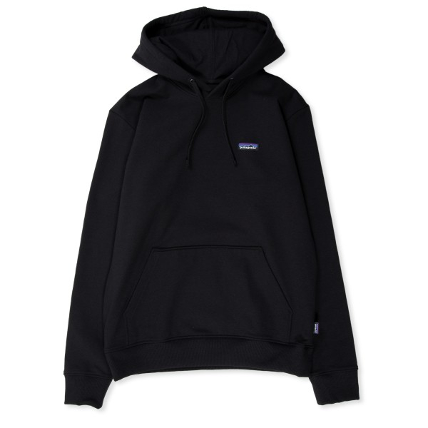 Patagonia P-6 Label Uprisal Pullover Hooded Sweatshirt (Black)