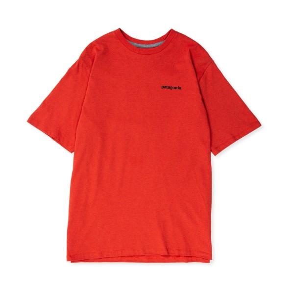 Patagonia P-6 Logo Responsibili-Tee T-Shirt (Hot Ember)