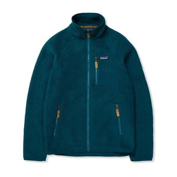 Patagonia Retro Pile Fleece Jacket (Dark Borealis Green)