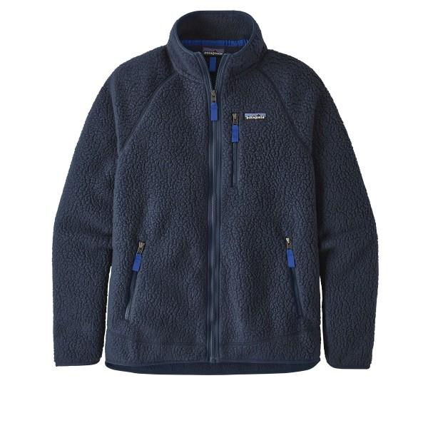 Patagonia Retro Pile Fleece Jacket (New Navy)