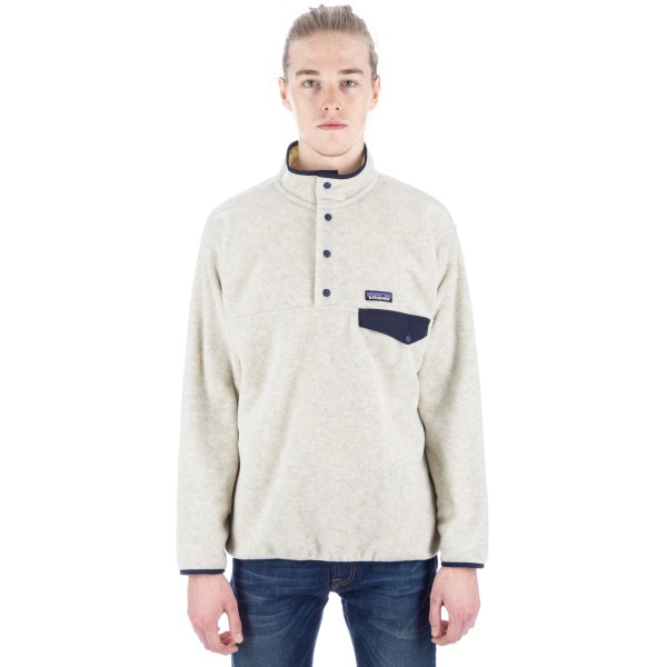 Patagonia Synchilla Snap-T Fleece Pullover (Oatmeal Heather)