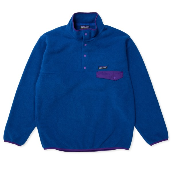 Patagonia Synchilla Snap-T Fleece Pullover (Superior Blue)
