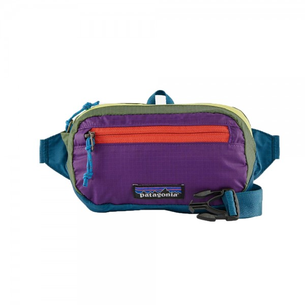 Patagonia Ultralight Black Hole Mini Hip Back (Patchwork: Steller Blue)