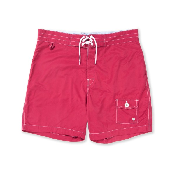 Penfield Greenbay Board Short (Red)