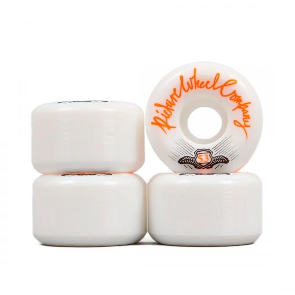 Picture Wheel Co. POP Skateboard Wheels 53mm (Tangerine)