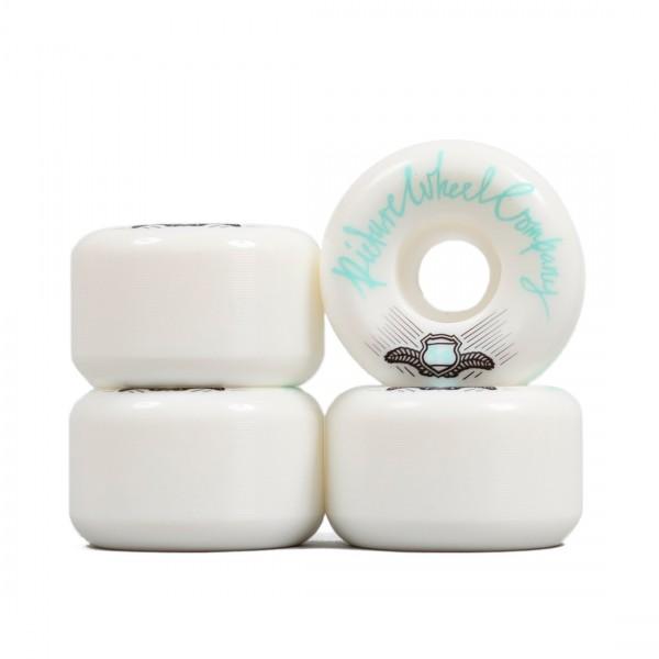 Picture Wheel Co. POP Skateboard Wheels 54mm (Teal)