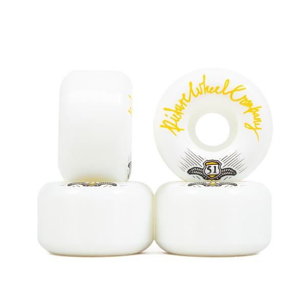 Picture Wheel Co. POP Skateboard Wheels 51mm (Yellow)