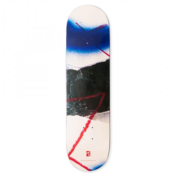 """Poetic Collective Collage #1 Skateboard Deck 8.0"""""""