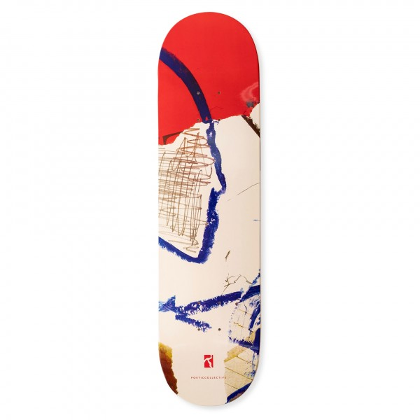 """Poetic Collective Collage #2 Skateboard Deck 8.25"""""""