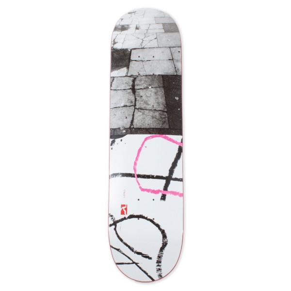 "Poetic Collective Long Skateboard Deck 8.25"""