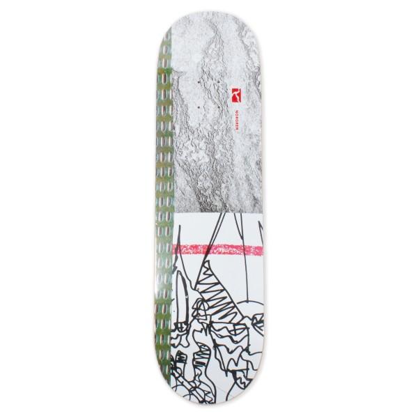 "Poetic Collective Norgren Skateboard Deck 8.0"""