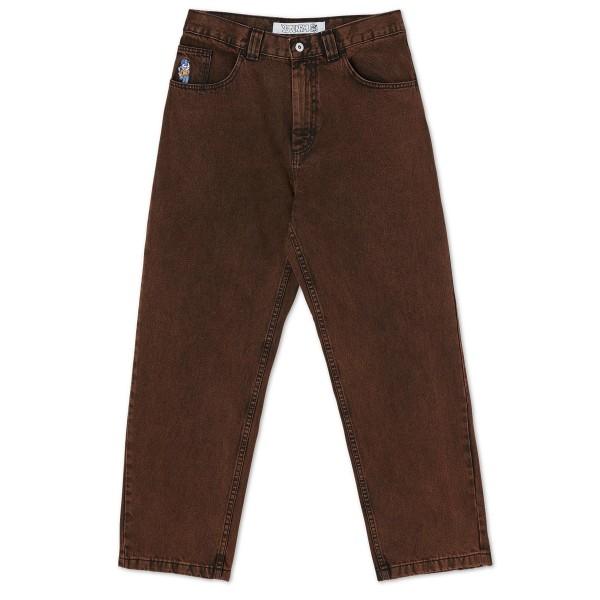 Polar Skate Co. '93 Denim Jeans (Orange Black)