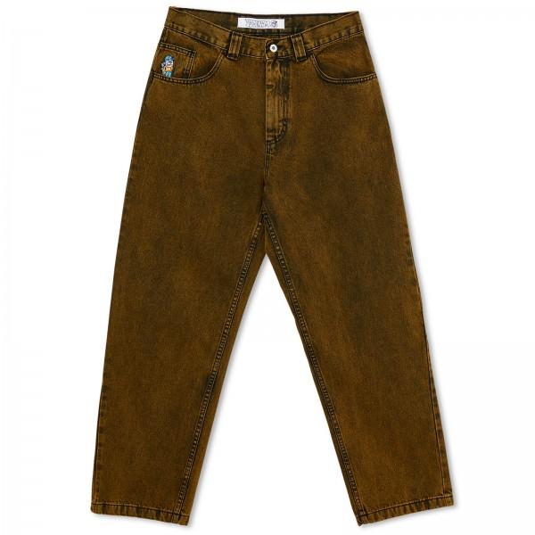 Polar Skate Co. '93 Denim Jeans (Yellow Black)
