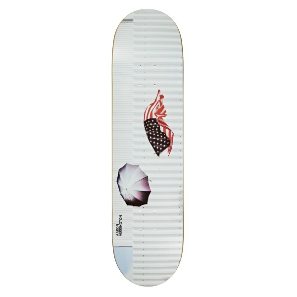 "Polar Skate Co. Aaron Herrington America Skateboard Deck 8.5"" (Everslick)"