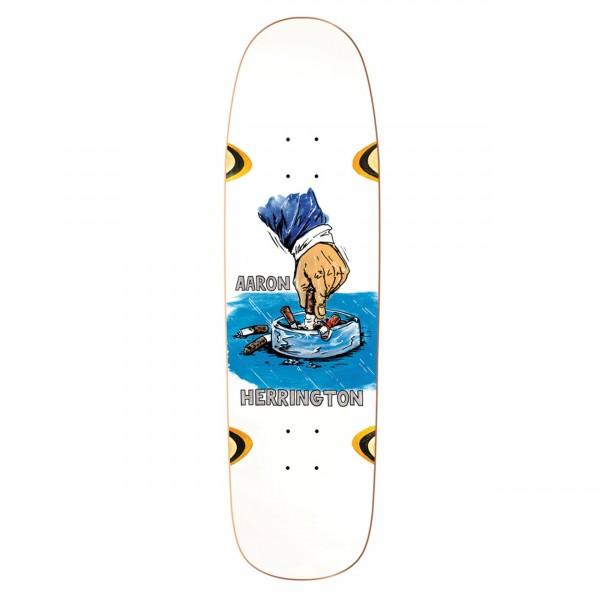 Polar Skate Co. Aaron Herrington Chain Smoker Skateboard Deck Wheel Wells P9 Shape