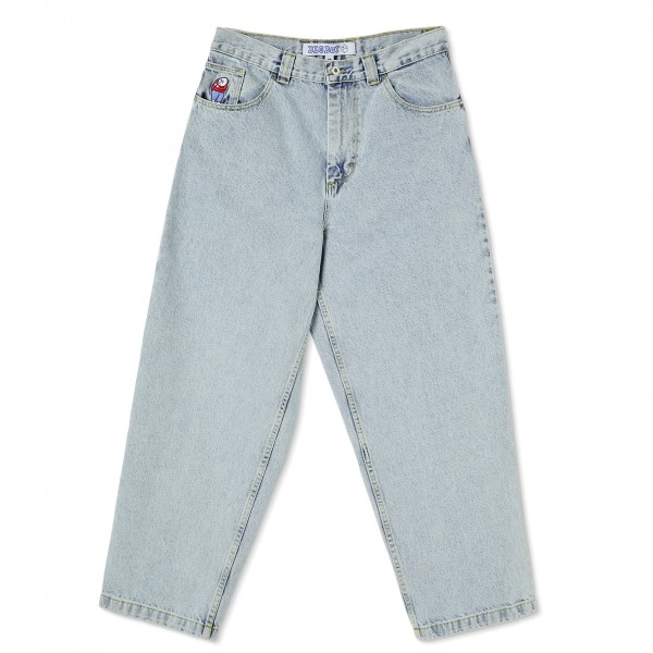 Polar Skate Co. Big Boy Denim Jeans (Light Blue)