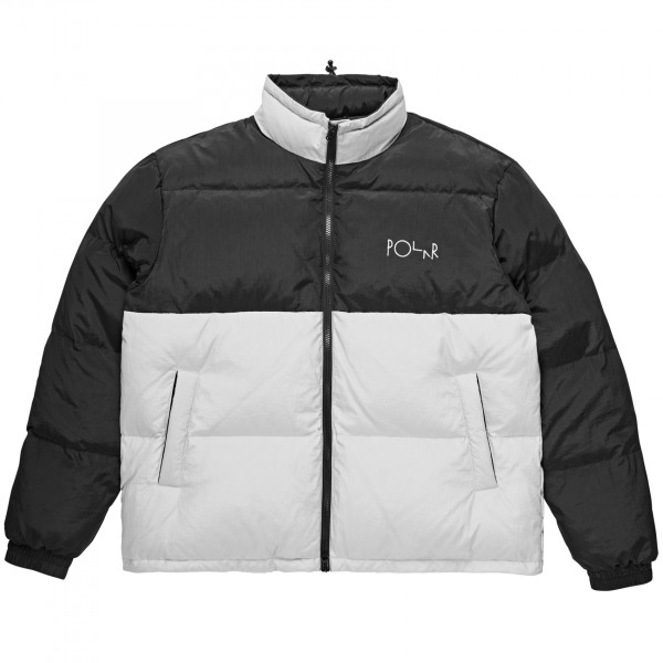 Polar Skate Co. Combo Puffer (Black/Ice Grey)