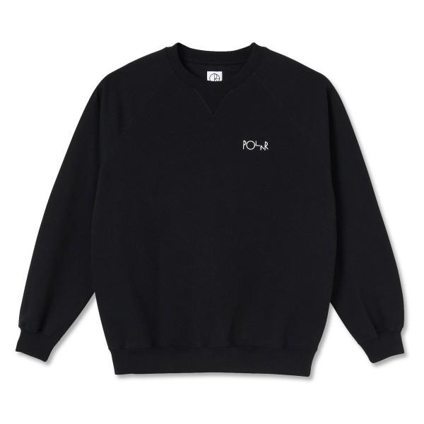 Polar Skate Co. Default Crew Neck Sweatshirt (Black)