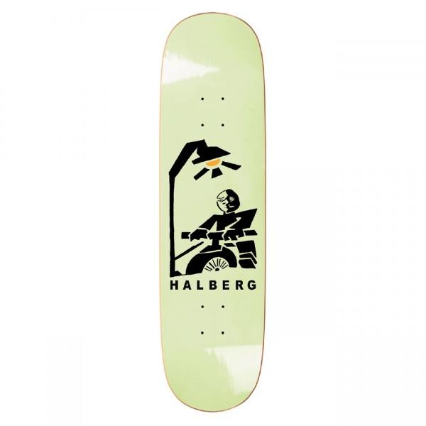 Polar Skate Co. Hjalte Halberg Insomnia Skateboard Deck P2 (Mint)