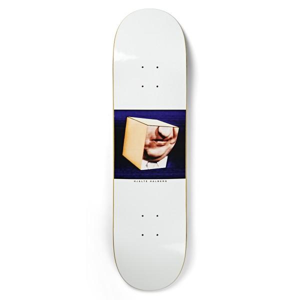 """Polar Skate Co. Hjalte Halberg Isolation Skateboard Deck 8.25"""" (White)"""