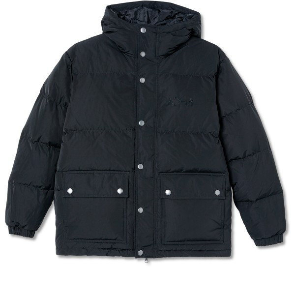 Polar Skate Co. Hooded Puffer (Black)