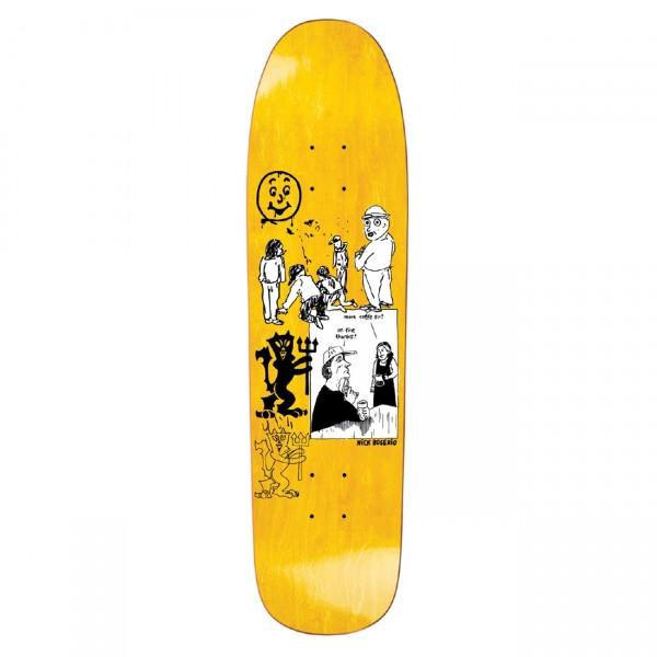Polar Skate Co. Nick Boserio Year 2020 Skateboard Deck 1991 Jr. Shape (Yellow)