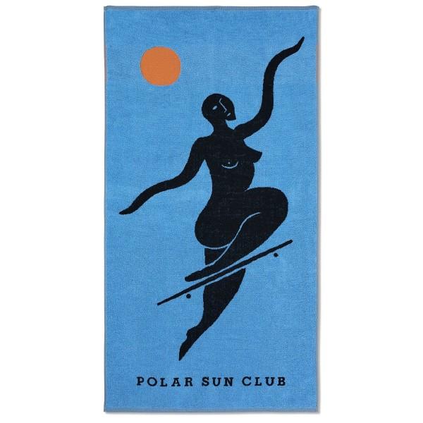 Polar Skate Co. No Complies Forever Beach Towel (Blue)