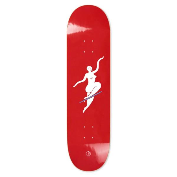 "Polar Skate Co. No Comply Skateboard Deck 7.875"" (Red)"