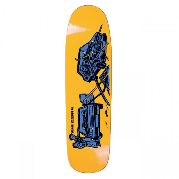"Polar Skate Co. Oskar Rozenberg Drivers License Skateboard Deck 8.625"" (Yellow)"