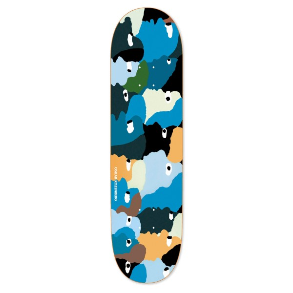 """Polar Skate Co. Oskar Rozenberg Heads Skateboard Deck 8.0"""""""