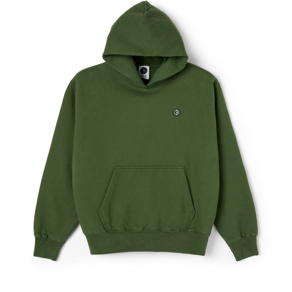Polar Skate Co. Patch Pullover Hooded Sweatshirt (Hunter Green)