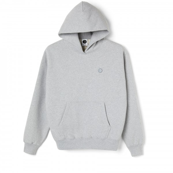 Polar Skate Co. Patch Pullover Hooded Sweatshirt (Sports Grey)