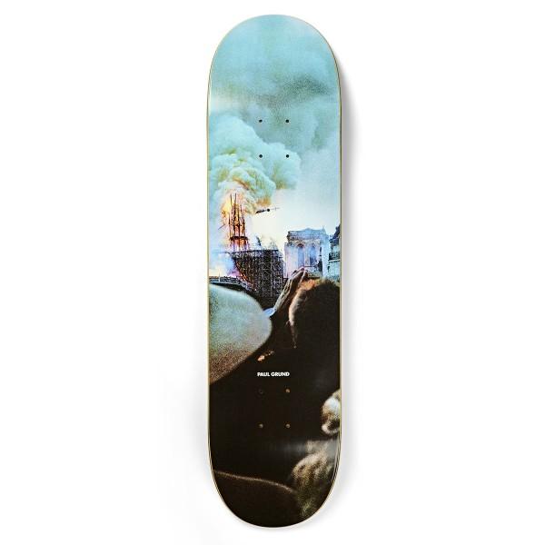 "Polar Skate Co. Paul Grund Notre Dame Slick Skateboard Deck 8.375"""