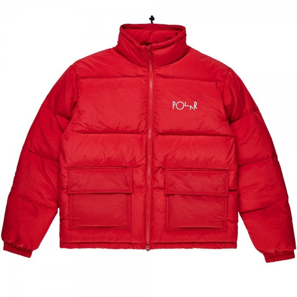 Polar Skate Co. Pocket Puffer (Red)