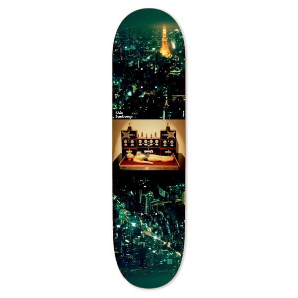 "Polar Skate Co. Shin Sanbongi Astro Boy Skateboard Deck 8.5"""