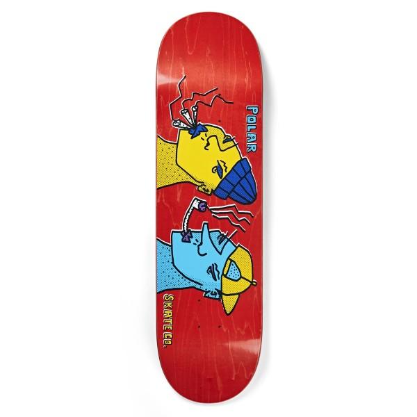 """Polar Skate Co. Smoking Heads Skateboard Deck 8.125"""""""