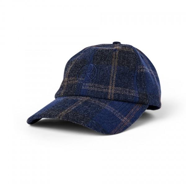 Polar Skate Co. Wool Stroke Logo Cap (Blue)