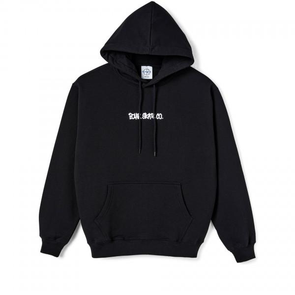 Polar Skate Co. World Domination Pullover Hooded Sweatshirt (Black)