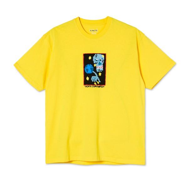 Polar Skate Co. World Domination T-Shirt (Lemon)